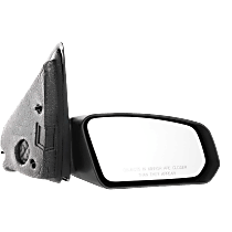 Mirror Non-folding - Passenger Side, Manual Glass, Textured Black