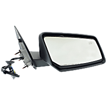 Mirror - Passenger Side, Power, Heated, Folding, Textured Black, 2nd Design