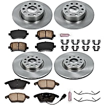 00OEREP58 SureStop OE Replacement Front And Rear Brake Disc and Pad Kit, 4-Wheel Set