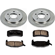 01OEREP15 SureStop OE Replacement Rear Brake Disc and Pad Kit, 2-Wheel Set