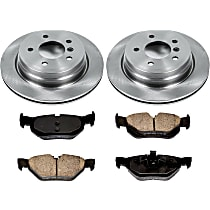 01OEREP30 SureStop OE Replacement Rear Brake Disc and Pad Kit, 2-Wheel Set