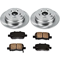 02OEREP55 SureStop OE Replacement Rear Brake Disc and Pad Kit, 2-Wheel Set