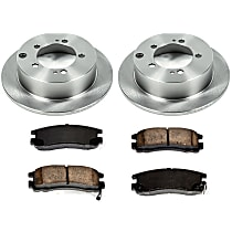 03OEREP12 SureStop OE Replacement Rear Brake Disc and Pad Kit, 2-Wheel Set