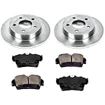 03OEREP13 SureStop OE Replacement Rear Brake Disc and Pad Kit, 2-Wheel Set