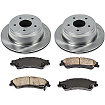 03OEREP20 SureStop OE Replacement Rear Brake Disc and Pad Kit, 2-Wheel Set