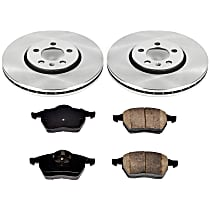 03OEREP54 SureStop OE Replacement Front Brake Disc and Pad Kit, 2-Wheel Set