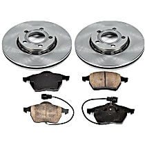 04OEREP31 SureStop OE Replacement Front Brake Disc and Pad Kit, 2-Wheel Set