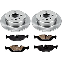 04OEREP48 SureStop OE Replacement Rear Brake Disc and Pad Kit, 2-Wheel Set
