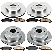 05OEREP20 SureStop OE Replacement Front And Rear Brake Disc and Pad Kit, 4-Wheel Set