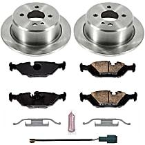 05OEREP48 SureStop OE Replacement Rear Brake Disc and Pad Kit, 2-Wheel Set