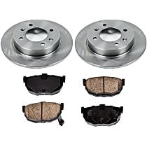 06OEREP31 SureStop OE Replacement Rear Brake Disc and Pad Kit, 2-Wheel Set