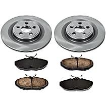 06OEREP52 SureStop OE Replacement Rear Brake Disc and Pad Kit, 2-Wheel Set