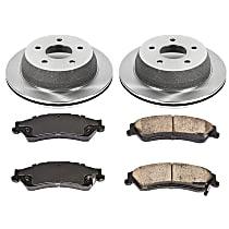 08OEREP20 SureStop OE Replacement Rear Brake Disc and Pad Kit, 2-Wheel Set