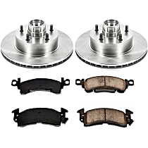 08OEREP29 SureStop OE Replacement Front Brake Disc and Pad Kit, 2-Wheel Set