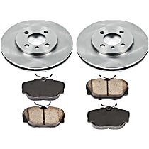08OEREP30 SureStop OE Replacement Front Brake Disc and Pad Kit, 2-Wheel Set