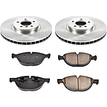 09OEREP60 SureStop OE Replacement Front Brake Disc and Pad Kit, 2-Wheel Set