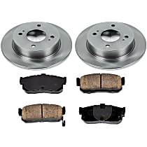 0OEREP74 SureStop OE Replacement Rear Brake Disc and Pad Kit, 2-Wheel Set