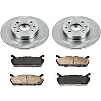 0OEREP77 SureStop OE Replacement Rear Brake Disc and Pad Kit, 2-Wheel Set