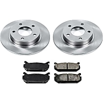 0OEREP79 SureStop OE Replacement Rear Brake Disc and Pad Kit, 2-Wheel Set