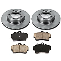0OEREP85 SureStop OE Replacement Front Brake Disc and Pad Kit, 2-Wheel Set