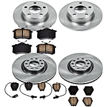 0OEREP95 SureStop OE Replacement Front And Rear Brake Disc and Pad Kit, 4-Wheel Set