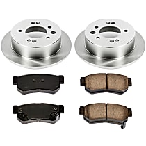 10OEREP52 SureStop OE Replacement Rear Brake Disc and Pad Kit, 2-Wheel Set