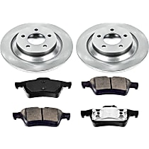 10OEREP53 SureStop OE Replacement Rear Brake Disc and Pad Kit, 2-Wheel Set