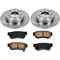 11OEREP52 SureStop OE Replacement Rear Brake Disc and Pad Kit, 2-Wheel Set