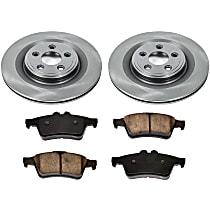 12OEREP46 SureStop OE Replacement Rear Brake Disc and Pad Kit, 2-Wheel Set