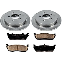 13OEREP19 SureStop OE Replacement Rear Brake Disc and Pad Kit, 2-Wheel Set