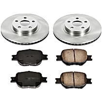 13OEREP23 SureStop OE Replacement Front Brake Disc and Pad Kit, 2-Wheel Set