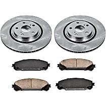 13OEREP47 SureStop OE Replacement Front Brake Disc and Pad Kit, 2-Wheel Set