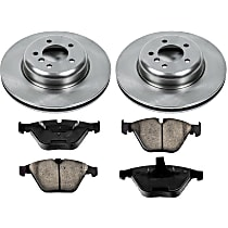 18OEREP29 SureStop OE Replacement Front Brake Disc and Pad Kit, 2-Wheel Set