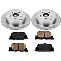 19OEREP23 SureStop OE Replacement Rear Brake Disc and Pad Kit, 2-Wheel Set
