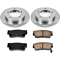 19OEREP49 SureStop OE Replacement Front Brake Disc and Pad Kit, 2-Wheel Set