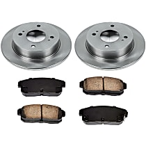 1OEREP74 SureStop OE Replacement Rear Brake Disc and Pad Kit, 2-Wheel Set