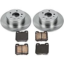 1OEREP83 SureStop OE Replacement Rear Brake Disc and Pad Kit, 2-Wheel Set