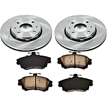 1OEREP91 SureStop OE Replacement Front Brake Disc and Pad Kit, 2-Wheel Set