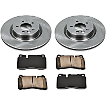 22OEREP54 SureStop OE Replacement Front Brake Disc and Pad Kit, 2-Wheel Set