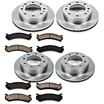 23OEREP20 SureStop OE Replacement Front And Rear Brake Disc and Pad Kit, 4-Wheel Set