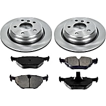 25OEREP31 SureStop OE Replacement Rear Brake Disc and Pad Kit, 2-Wheel Set