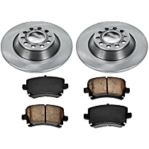 25OEREP46 SureStop OE Replacement Rear Brake Disc and Pad Kit, 2-Wheel Set