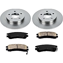 26OEREP15 SureStop OE Replacement Rear Brake Disc and Pad Kit, 2-Wheel Set