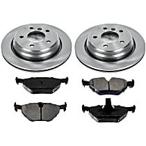 26OEREP31 SureStop OE Replacement Rear Brake Disc and Pad Kit, 2-Wheel Set