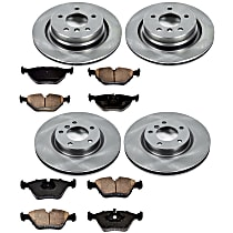 29OEREP42 SureStop OE Replacement Front And Rear Brake Disc and Pad Kit, 4-Wheel Set
