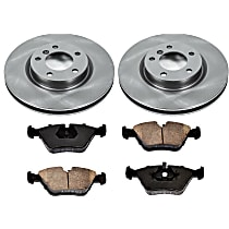 2OEREP58 SureStop OE Replacement Front Brake Disc and Pad Kit, 2-Wheel Set