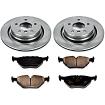 30OEREP30 SureStop OE Replacement Rear Brake Disc and Pad Kit, 2-Wheel Set