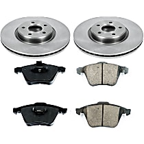 30OEREP54 SureStop OE Replacement Front Brake Disc and Pad Kit, 2-Wheel Set