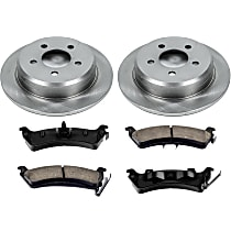 31OEREP21 SureStop OE Replacement Rear Brake Disc and Pad Kit, 2-Wheel Set