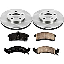 32OEREP15 SureStop OE Replacement Front Brake Disc and Pad Kit, 2-Wheel Set